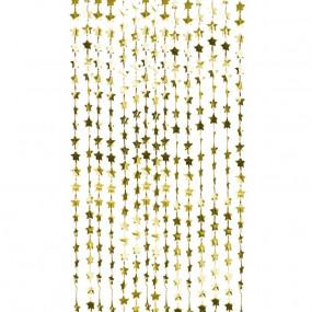 Cortina Estrelas Douradas
