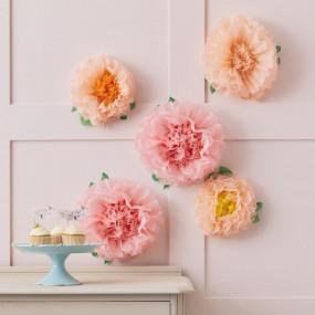 Flores Papel - conj.5