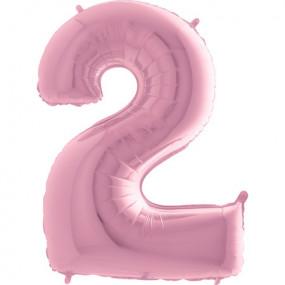 Balão Grande 2 Rosa Claro
