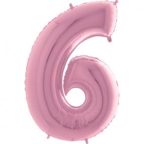 Balão Grande 6 Rosa Claro