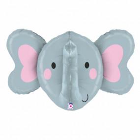 Balão Cabeça Elefante 86cm