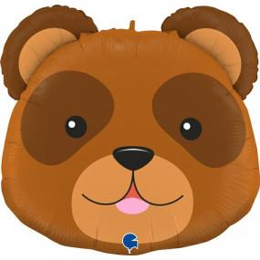 Balão Cabeça Urso 74 CM