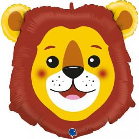 Balão cabeça Leão 74cm