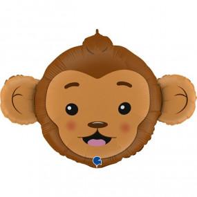 Balão cabeça macaco 91cm