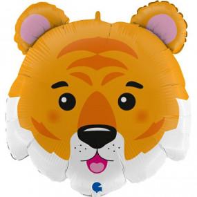 Balão cabeça tigre 71cm