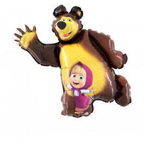 Balão Masha e Urso 107cm