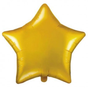 Balão Estrela Dourada 50cm