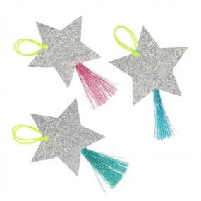 Etiquetas Glitter Estrelas