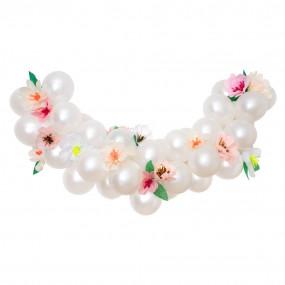 Grinalda Balões e Flores
