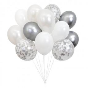 Bouquet Balões Prata
