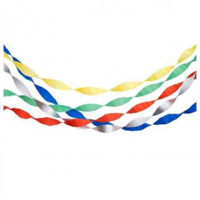 Fitas Crepe Coloridas - conj. 5