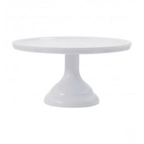 Prato Bolo Branco Melamina - 23,5cm