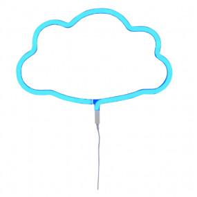 Luz Neon Nuvem Azul