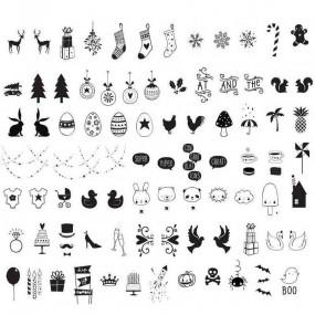 Símbolos Celebração para Lightbox