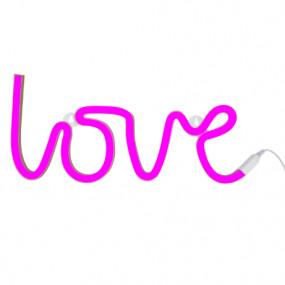 Luz Neon Love Rosa
