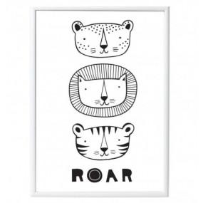 Poster Roar 50 x 70cm