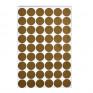 Autocolantes Parede Bolinhas Douradas