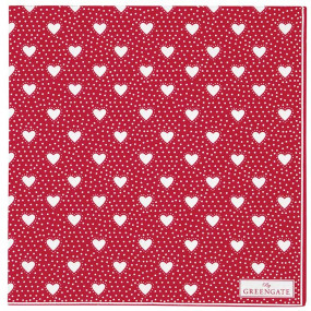 Greengate Guardanapos Papel Penny Red