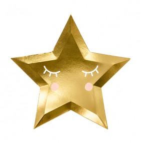 Pratos Estrela Olhinhos