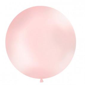 Balão Rosa Metálico