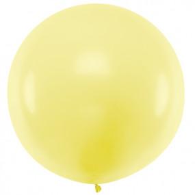 Balão Amarelo PASTEL 1m