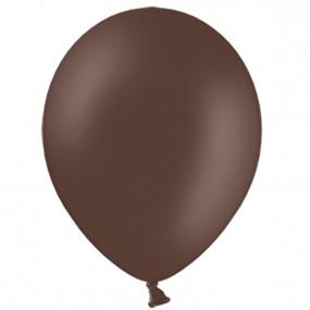 10 Balões Latex Castanho Chocolate 30cm