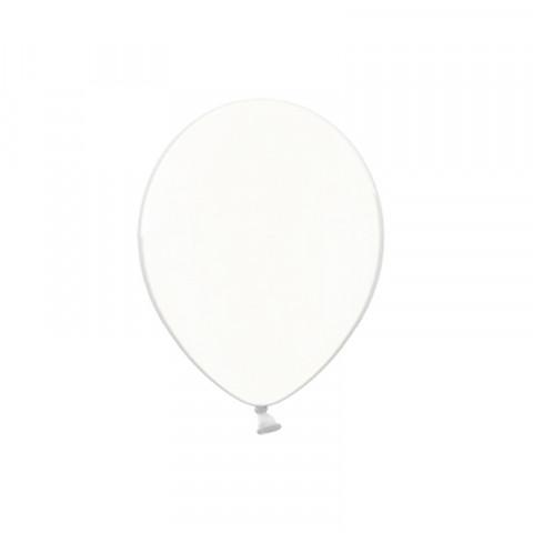 50 Balões Latex Transparente 12CM