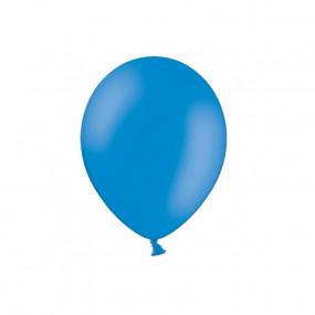 10 Balões Latex Azul 12cm