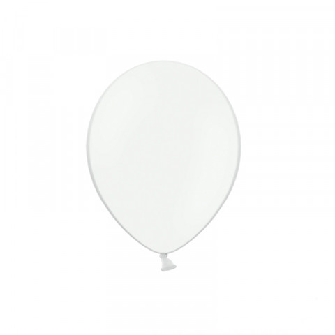 50 Balões Latex Brancos 12CM