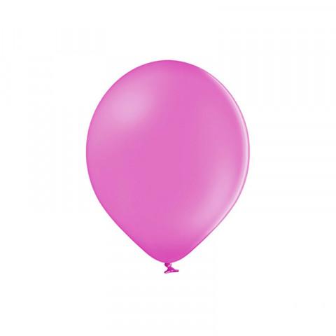 50 Balões Latex Rosa Forte 12CM