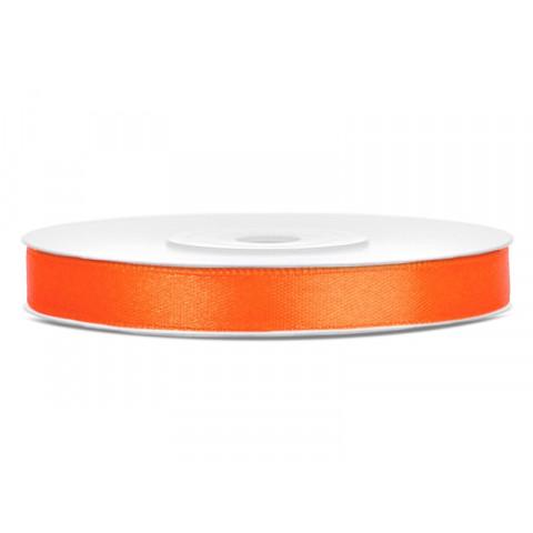 Fita 6mm - cetim laranja