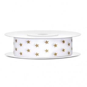 Fita 18mm - Estrelas Douradas