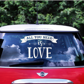 Sticker All you Need is Love