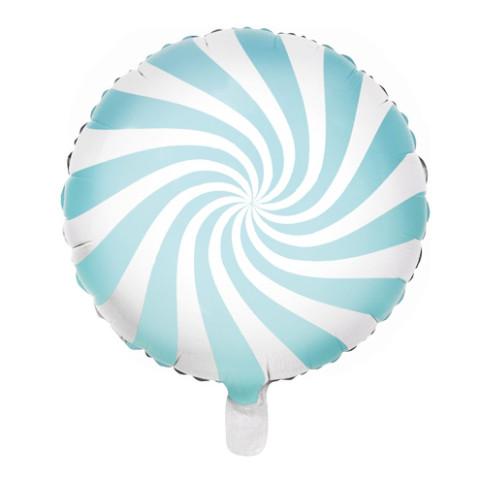 Balão Candy Azul Claro 45cm