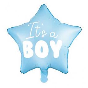 Balão Estrela It's a Boy 45cm