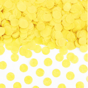 Confetis Amarelos 1,5cm