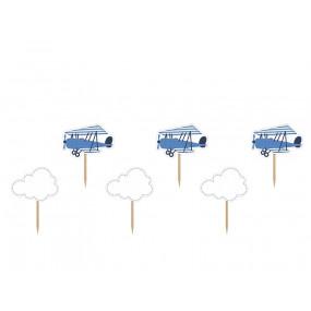 Toppers Nuvens Avião