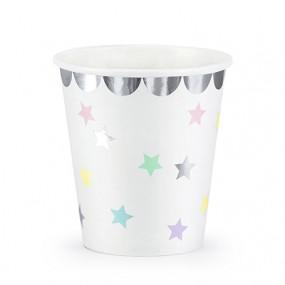 Copos Estrelas Pastel