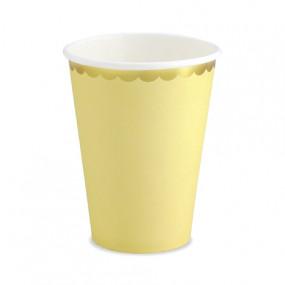 Copos Amarelo Gold