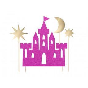 Topo Castelo Princesa Rosa