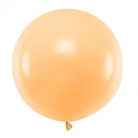 Balão Pêssego Pastel 60cm