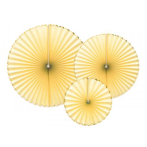 3 Rosetas Amarelas Gold