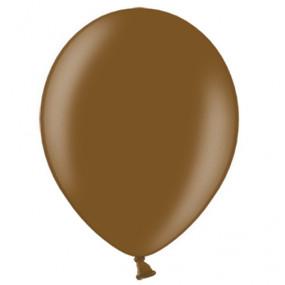 10 Balões Latex Castanho Chocolate