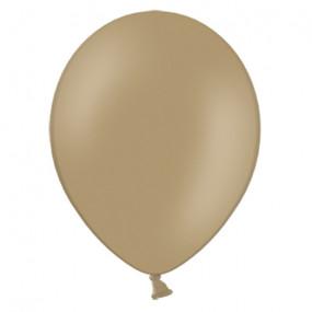 10 Balões Latex Cappuccino