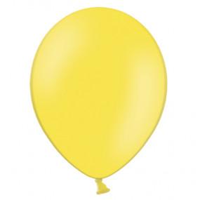 100 Balões Latex Amarelos