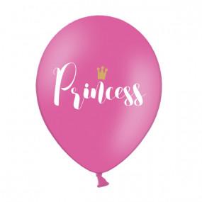 Balões Rosa Princess - conj.10