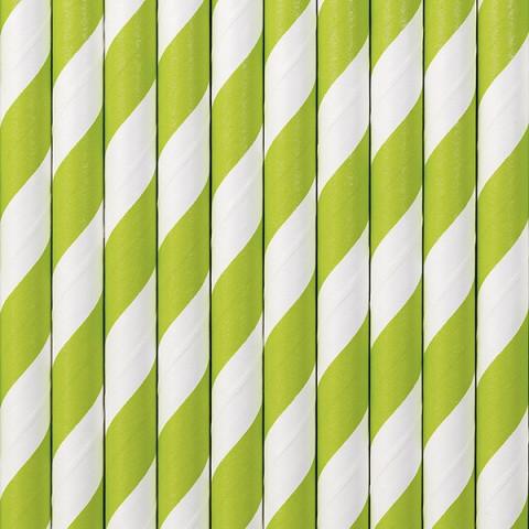 Palhinhas Riscas Verde Alface