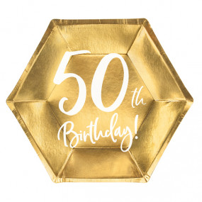 Pratos Dourados 50 Anos