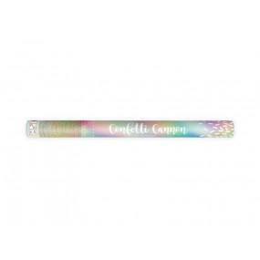 Canhão Confettis IRIDISCENTES - 60cm