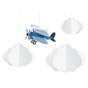 Decorações Nuvens e Avião